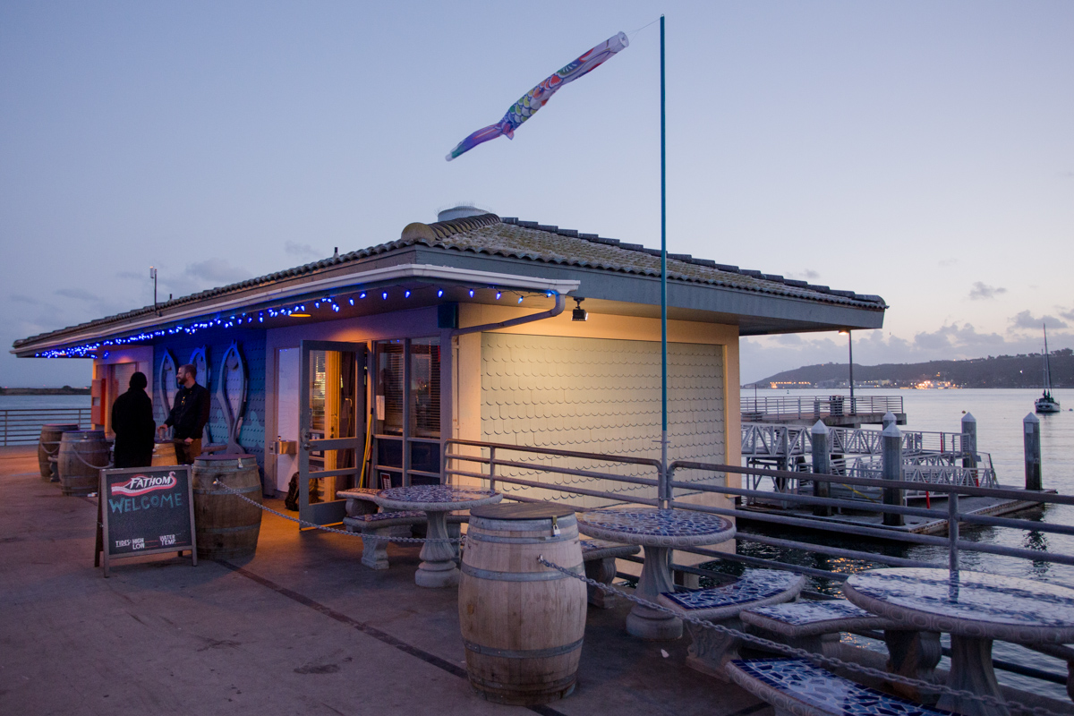 San Diego's Only Tap House ON The Water!